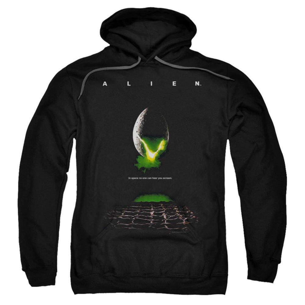 Alien - Männer Poster Hoodie