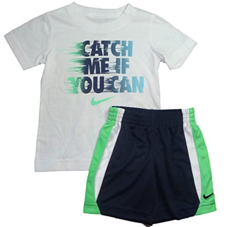 25edaf7353c07 Nike 2-Pc. Catch Me If You Can T-Shirt & Shorts Set, Little Boys (4T ...
