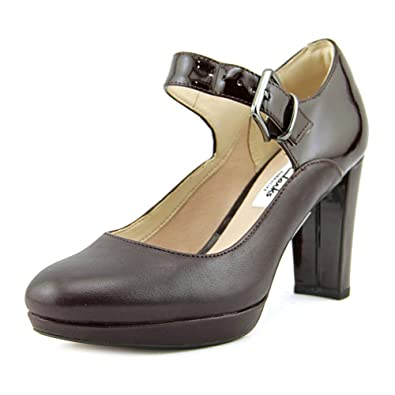 e158ca1c3c14 CLARKS Womens Kendra Gaby Closed Toe Ankle Strap Mary Jane