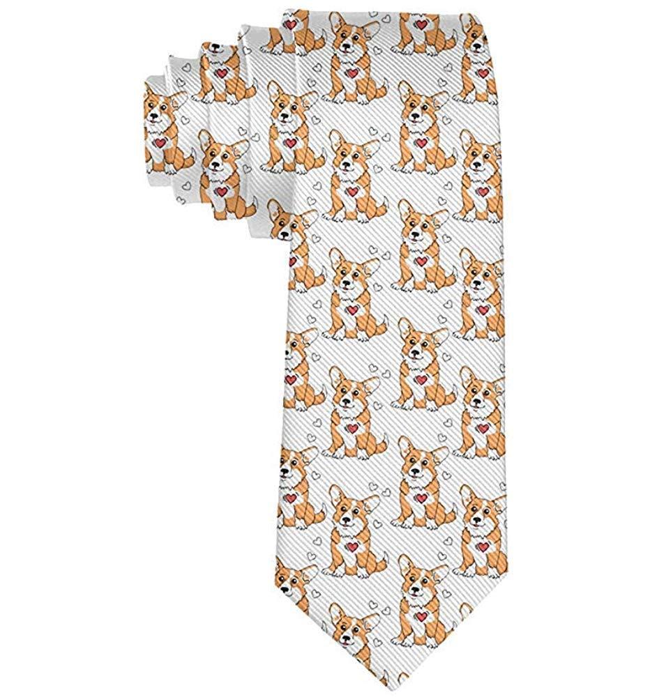 Hombres Corgis Funny Dog Designnovedad Corbata Ideal Para El ...