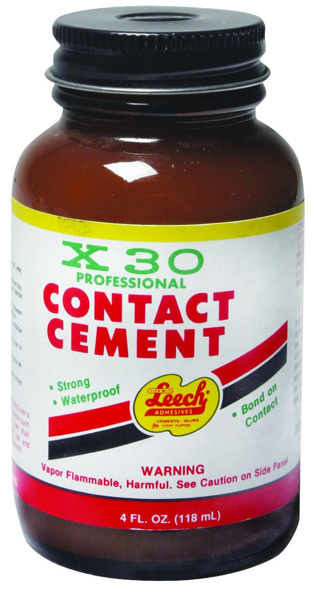 LEECH PRODUCTS X30-74 X-30 Professional Contact Cement