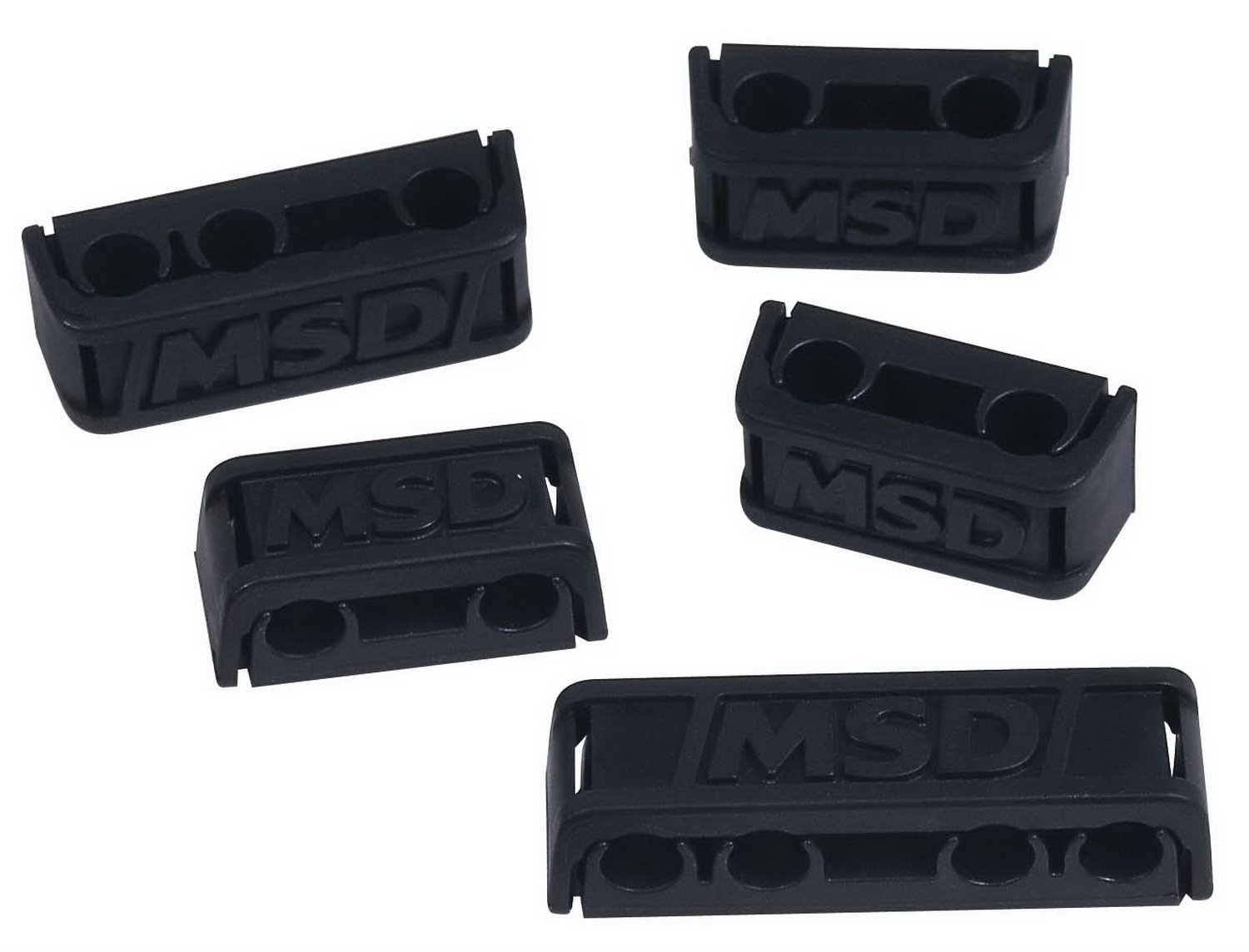 MSD 8843 Pro-Clamp Plug Wire Separator, (Set of 8) by MSD