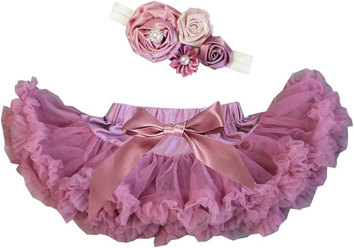 Kirei Sui Baby Dusty Pink Pettiskirt Headband Set