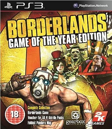 Take-Two Interactive Borderlands - Juego (PlayStation 3, Tirador ...
