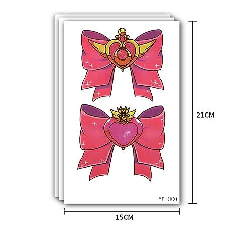 2pcs-Color Brazo de la Flor Etiqueta engomada del Tatuaje Etiqueta ...