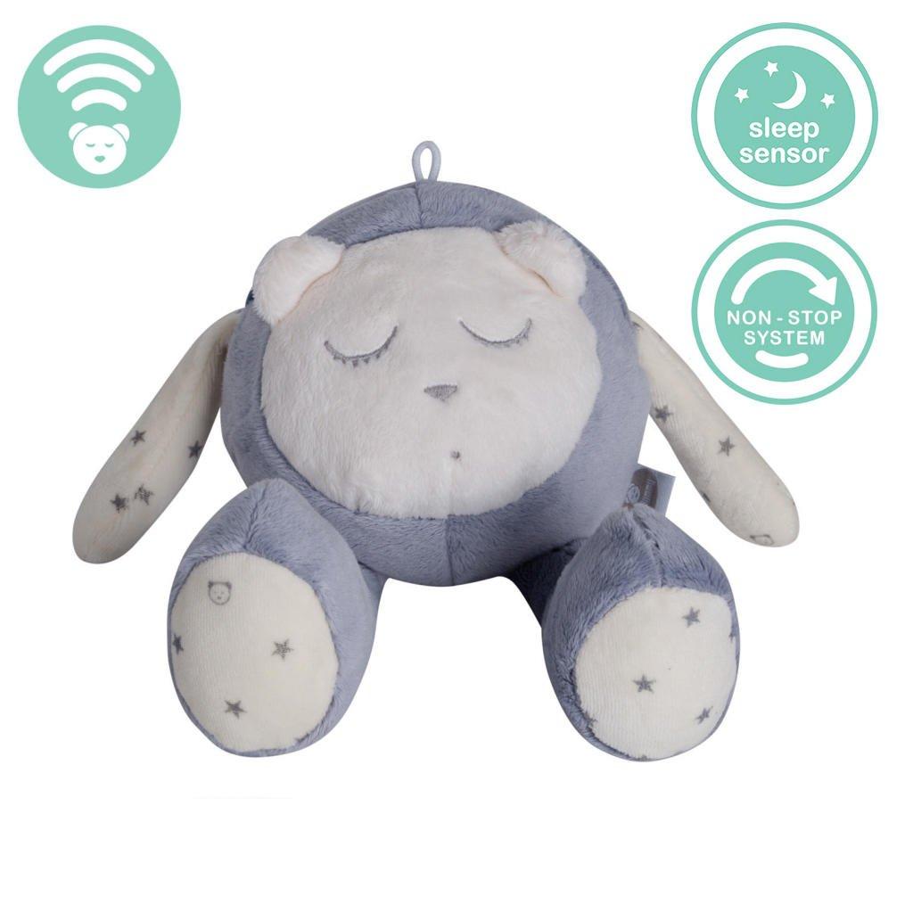 myHummy (SZUMISIE) Snoozy White Noise Toy with Cry Sensor & Non Stop System (White & Grey)