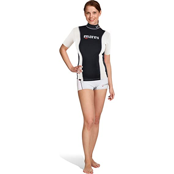 Mares Fire Skin She Dives Short Sleeve - Traje de Buceo para ...