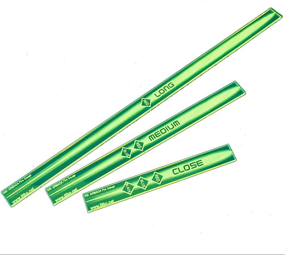 LITKO SW: Armada Multi Range Gauge Set, Fluorescent Green (3)