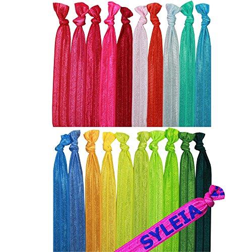Syleia 20 Hair Ties Ponytail