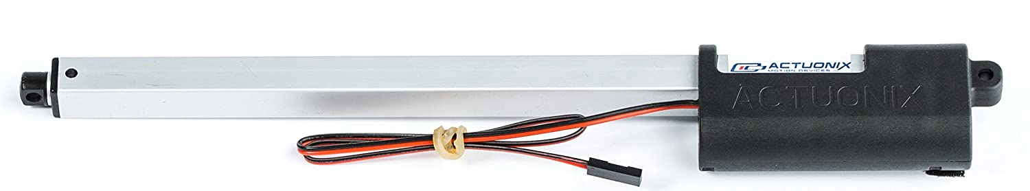 200mm 7.9 64:1 Gearing 20lbs Max Force Includes Hardware Kit P16 Linear Actuator 12 Volt
