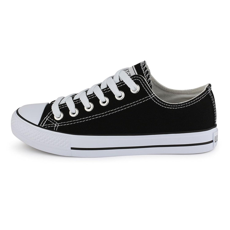 Elara - Chaussures De Sport Unisexe, Chaussures De Sport Confortables Pour Les Hommes Et Les Femmes, Le Textile, 36-46, Blanc, Taille 46 Eu