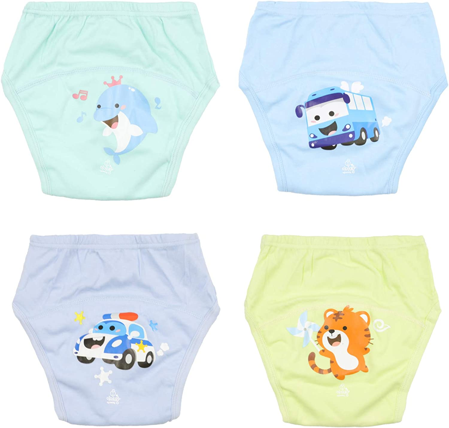 Cloud Kids 2er Pack T/öpfchen-Trainingshose Baby Lernwindel Windelhose Wasserdicht Trainer Windelhosen