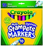 Crayola 10 Count Expressions Washable Mini-Stampers