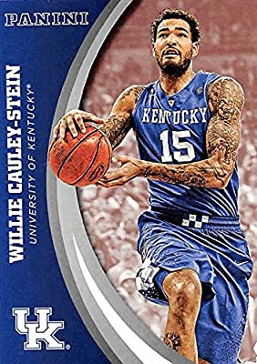 Willie Cauley-Stein basketball card (Kentucky Wildcats) 2016 Panini Team Collection #28