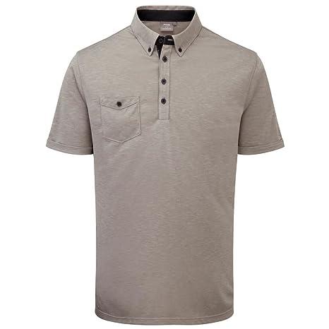 2015 Ping Collection Karsten Hombre Golf Polo camisa, Rock Marl ...