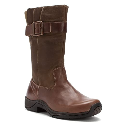 Women's Rocky Barnstormer 11 inch Waterproof Pull - on Work Boots Dark  Brown, CHOC/