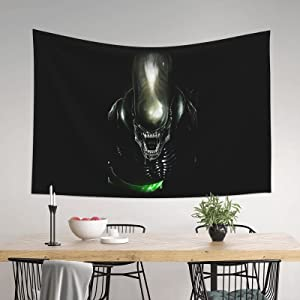 Xenomorph Tapestry Wall Hanging Soft Tapestries Home Decorations For Living Room Bedroom Dorm Decor 60x40 Inches