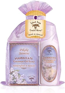 product image for Island Soap & Candle Works,Soap and Lotion Organza Set, Pikake