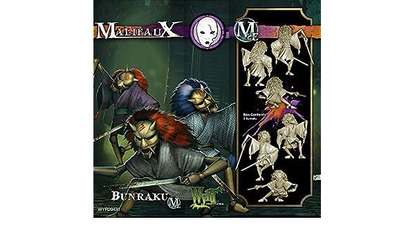 Amazon.com: Malifaux Bunraku: Toys & Games