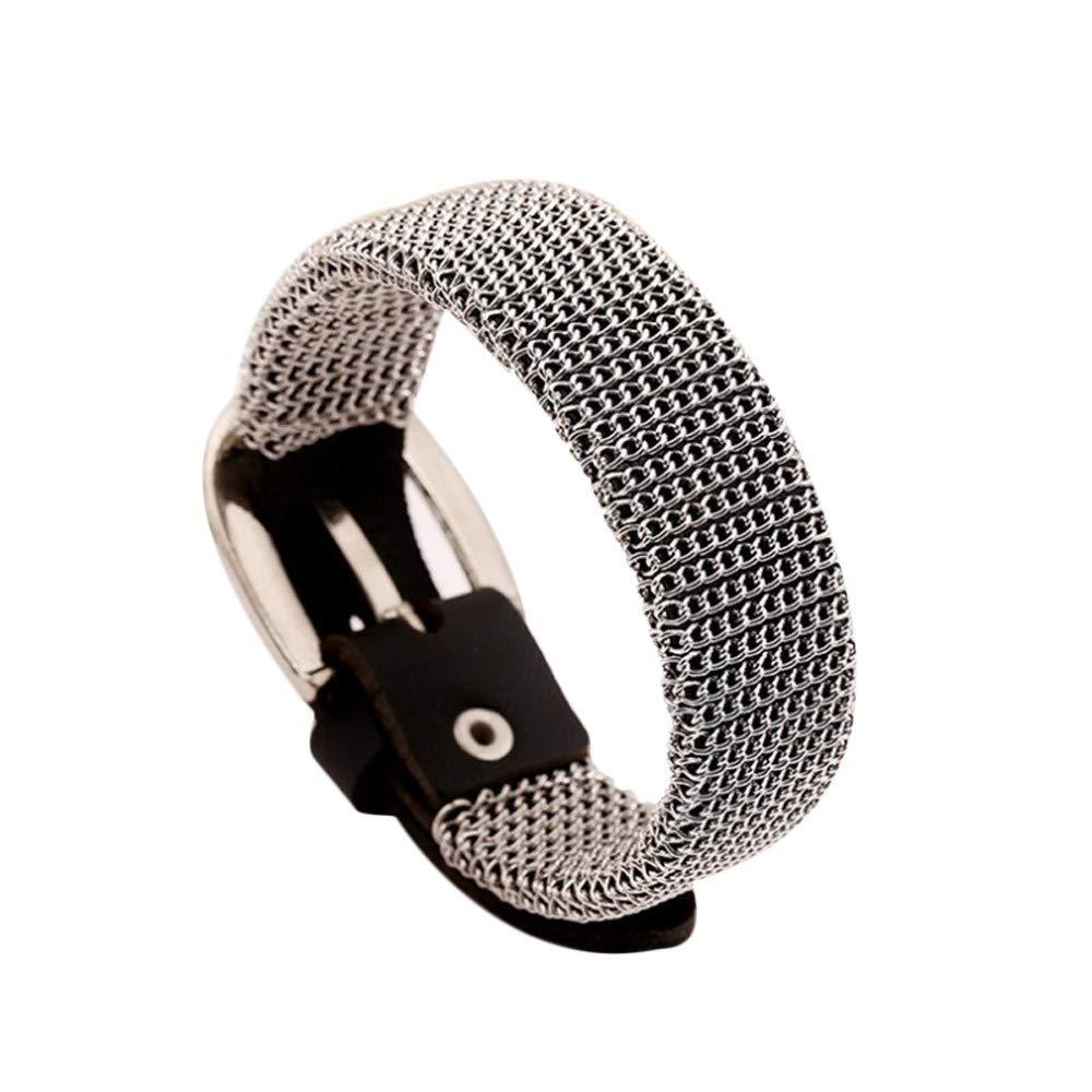 Dream_Mimi Women Men's Retro Alloy Bracelet