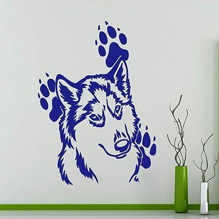 jiuyaomai Cabeza de Lobo Patrón Lindo con Huellas Alrededores ...