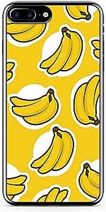 iPhone 7 Plus Transparent Edge Phone Case Banana Phone Case Banana Pattern iPhone 7 Plus Cover with Transparent Frame