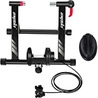 unisky Indoor Exercise Cycling Fitness Magnetic Bicycle Trainer Stand- Variable 6 Levels of Resistance Bike Trainer for…