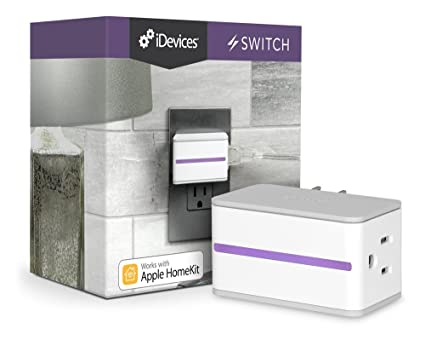 iDevices Switch - Wi-Fi Enabled Plug Works with Apple HomeKit and Amazon Alexa by
