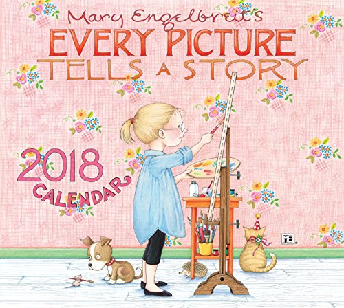 Mary Engelbreit 2018 Deluxe Wall Calendar Every Picture Tells A Story ()