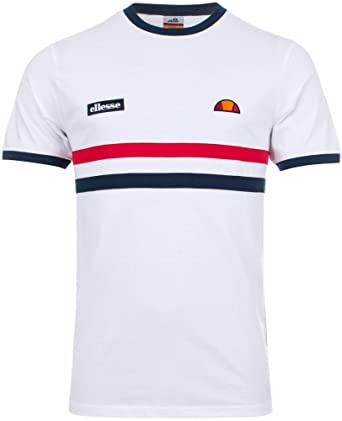 557136d7ac ellesse Men's Banlo T-Shirt, White