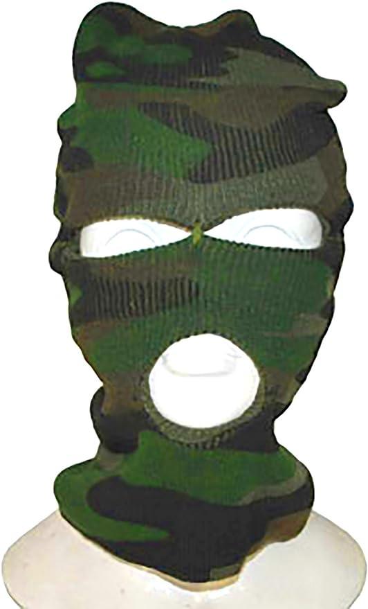 Zauberclown mágica payaso Mugshots Tormenta Máscara camuflaje ...