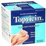 Topricin Foot Pain Relief Cream, 4 oz