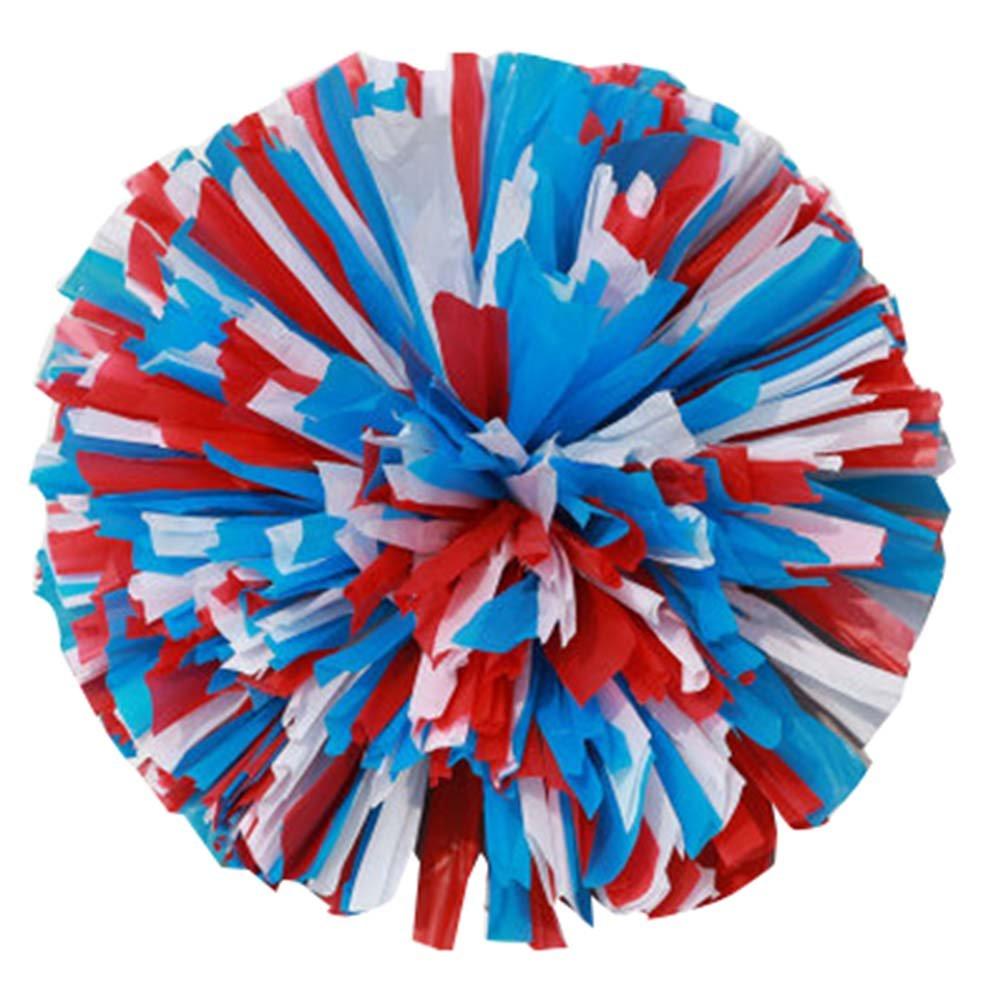 2 Stü ck Cheerleading Cheer Pom Poms Sport-Tanz-Cheerleader Multi Color Pom Poms Blancho Bedding
