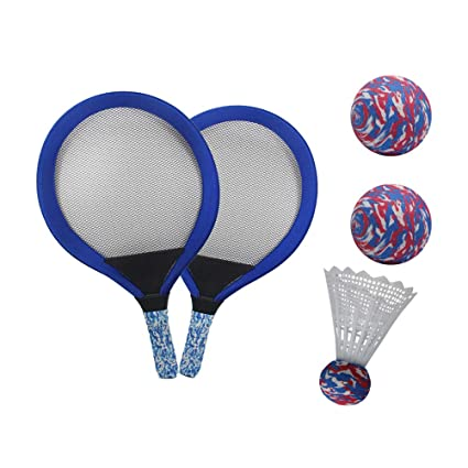 LIOOBO 1 par de Tenis para niños Raqueta de bádminton ...