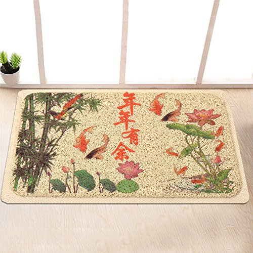 Garden door mat bathroom mat skid-proof mats in the Hall -4060cm p by ZYZX