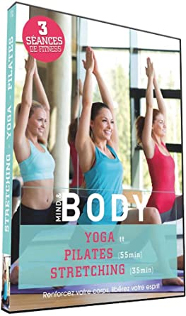 Mind & Body : Yoga + Pilates + Stretching Francia DVD ...