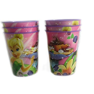 Disney Pixar Reusable Treat Favor Party Cups (Tinkerbell): Health & Personal Care
