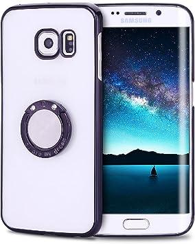 Coque Galaxy S6 Edge, Coque Samsung S6 Edge avec Anneau Kickstand ...