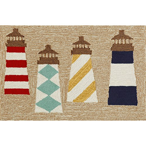 Liora Manne FT134A93112 Whimsy Signal Tower Rug, Indoor/Outdoor, 30