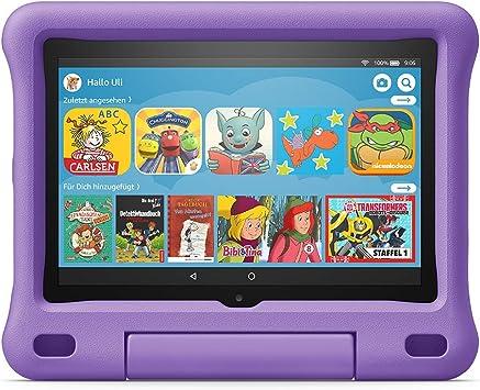 Kindgerechte Hülle Für Fire Hd 8 Tablet Kompatibel Mit Der 10 Generation 2020 Violett Amazon Devices