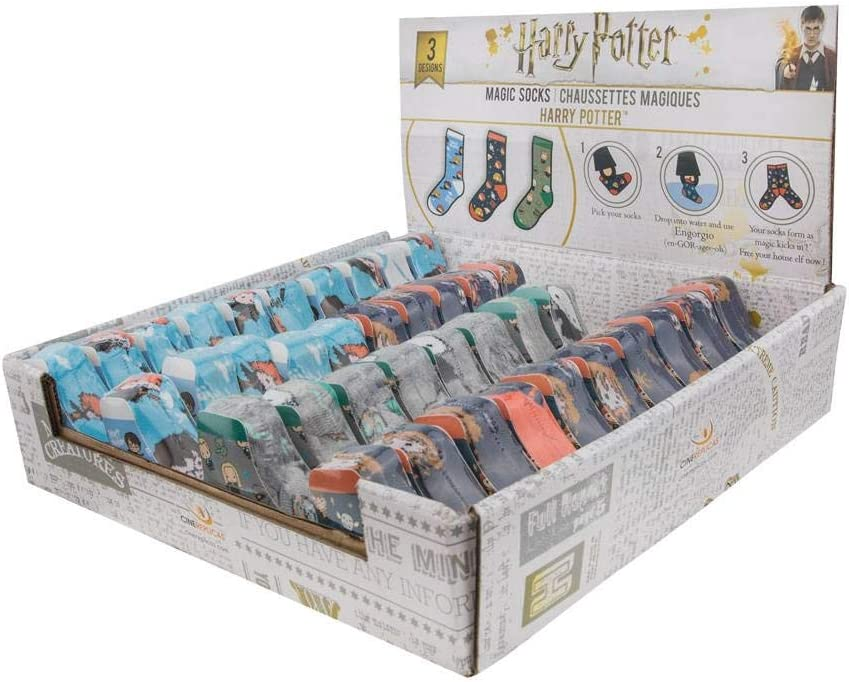 Cinereplicas Harry Potter Magic Socks Starter Pack Display (40 ...