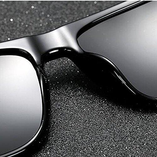 Miroir soleil hommes polarisé Carré Lunettes Revêtement HD Magnésium Polarisé de Polariseur Mont E pour Miroir fyAcK4Cy