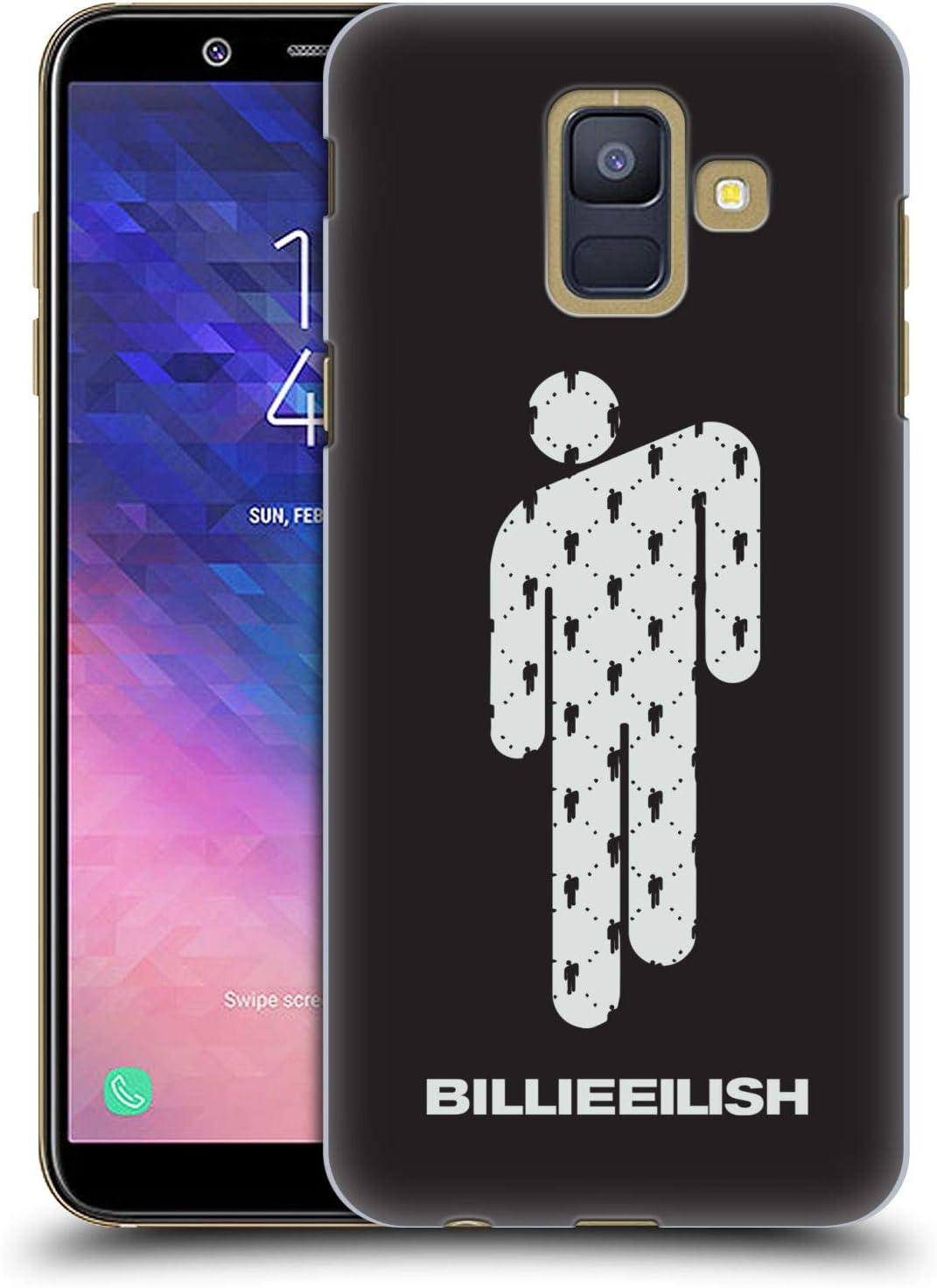 Head Case Designs Oficial Billie Eilish Blohsh Arte Clave Carcasa rígida Compatible con Samsung Galaxy A6 (2018)