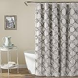 Ruffle Shower Curtain Lush Decor Ruffle Diamond Shower Curtain, 72