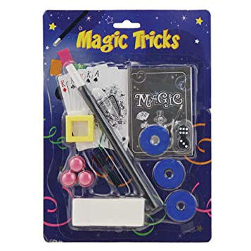 Magic Set Boys Christmas Gift Idea Present Xmas Fillers Kids Stocking Trick Toy Kit