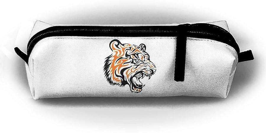Penilatuy Estuche para lápices Darr Tiger, Estuche para Estudiantes, Organizador de papelería, Soporte cosmético con Cremallera, Monedero, Monedero: Amazon.es: Hogar
