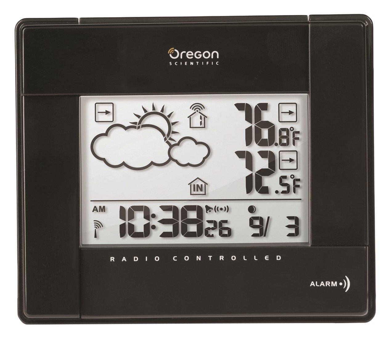 Oregon BAR-386 - Estación meteorológica inalámbrica con temperatura ...