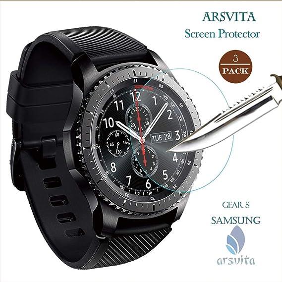 Amazon.com: Arsvita Smartwatch Protector de Pantalla de ...