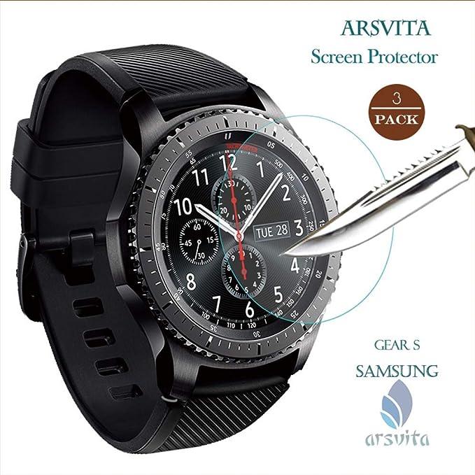 Arsvita - Protector de Pantalla de Cristal Templado para Samsung ...