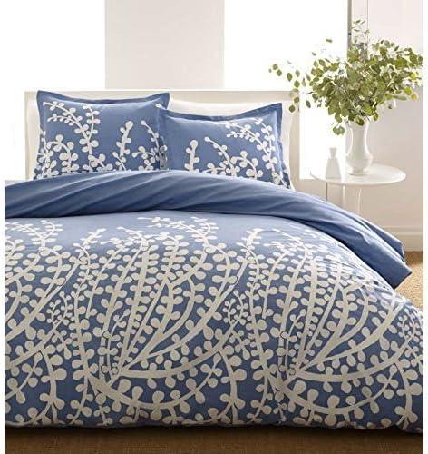 Amazon.com: Twin Size 100 percent Cotton Comforter Set with Blue